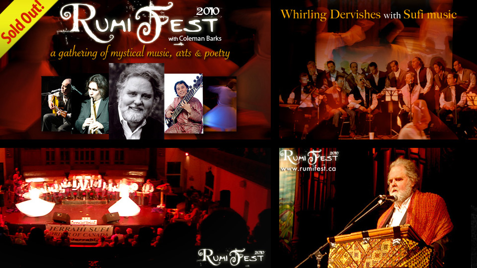 RUMI FEST 2010 with Coleman Barks